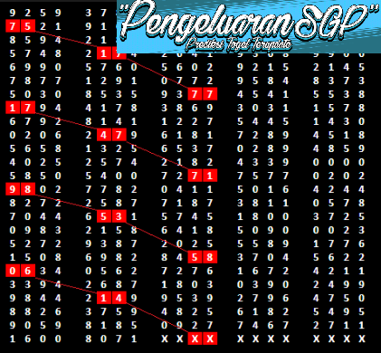 Data SGP Paito Pengeluaran Singapore 2008-2019 Terbaru